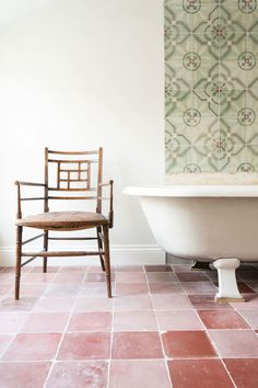 Driven by a passion for stunning tiles and interiors, Maitland & Poate is a family-run business selling beautiful Reclaimed Encaustic Spanish Tiles. Tiles Uk, House Tiles, Pink Tiles, Unique Tile, Encaustic Tile, Handmade Tiles, Color Tile, Colour, Flooring Options