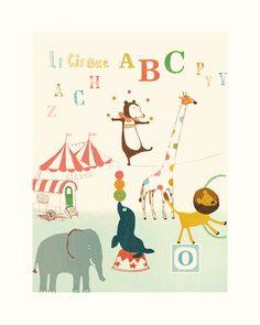 Poster, Circus large