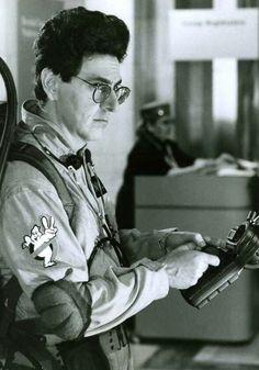 Harold Ramis in Ghostbusters II 1989 Original Ghostbusters, Ghostbusters 1984, The Real Ghostbusters, Ernie Hudson, Harold Ramis, Ghost Busters, Fantasy Movies, Iconic Movies, Movie Photo