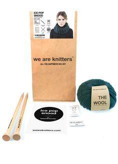Ice pop Snood - Snoods - Knitting kits