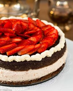 Strawberry Mousse Ca