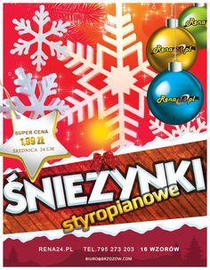 Ozdoby świąteczne ze styropinu