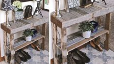 Do it yourself also known as DIY is the method of building modifying or repairing something without the aid of experts or professionals Wholesale Furniture, Cheap Furniture, Entryway Console, Entryway Tables, Dressing En Palette, Palette Furniture, Pallet Furniture Plans, Wooden Pallet Projects, Pallet Ideas