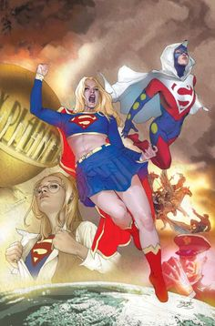 Supergirl by Renato Guedes