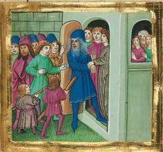 """Furtmeyr-Bibel (Deutsche Bibel """"Münchener Altes Testament""""). Band 1:  Genesis - Ruth. Cgm 8010a 1465-70, Regensburg Folio 21"""