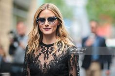 Fotografia de notícias : Olivia Palermo is seen, after the Elie Saab show,...