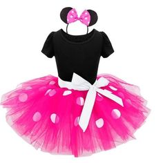 2017 Summer New kids dress minnie mouse princess party costume infant clothing Polka dot baby clothes birthday girls tutu dresse Costume Minnie Mouse, Disfraz Minnie Mouse, Minnie Dress, Costumes Avec Tutu, Fancy Costumes, Girl Costumes, Costumes Kids, Carnival Costumes, Princess Party Costume