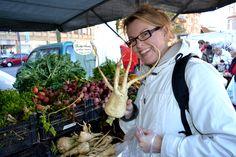 Farmers Market in Malmoe