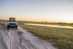 Sandy, muddy, rocky or under water, follow the road to adventure 4x4, Dreaming Of You, Safari, Africa, Country Roads, Adventure, Vehicles, Water, Places
