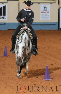 A runoff in junior western riding leads to a tie-breaker and a win for Snap Krackle Pop and AQHA Professional Horseman Blake Weis at the 2015 AQHA World Show.