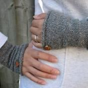 Everyday Wristers, Arm Warmers - via @Craftsy