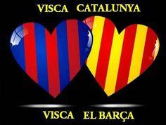 Visca Catalunya i visca el Barça