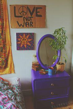 hippie bedroom decor 200550989645533641 - Source by Noodle_Sheep Decor, Room Makeover, Pretty Room, Room Ideas Bedroom, Hippie Room Decor, Hippy Room, Cool Rooms, Room Inspiration, Aesthetic Bedroom