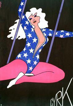Janowski - Polish Cyrk Poster, 1975