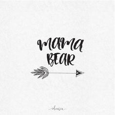 Mama Bear SVG file SVG designs SVG files saying bundle tee pee svg tee pee clipart cutting files script silhouette cricut monogram