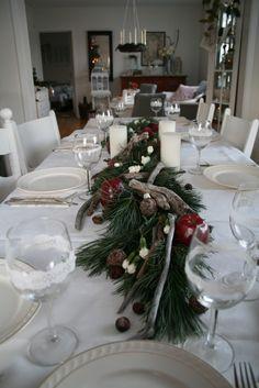 jolie table d'hiver