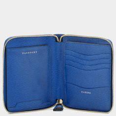 Bespoke Zipped Passport Case £250