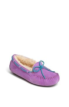 UGG®  Dakota  Moccasin (Little Kid   Big Kid)  3b3287d73