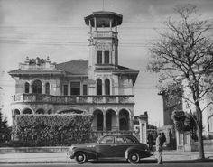 Década de 1940 - Residência de Amin Andraus na avenida Paulista. Localizava-se quase diante do atual prédio da Gazeta.