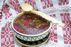Ciorba de loboda, stevie sau urzici Stevia, Serving Bowls, Good Food, Mexican, Tableware, Ethnic Recipes, Mixing Bowls, Dinnerware, Bowls