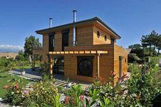 maison bois vallery france wood on house maisons et bois pinterest. Black Bedroom Furniture Sets. Home Design Ideas