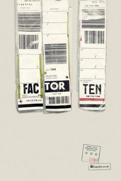 Creatività a prova di crisi: pubblicità con le etichette dei bagagli #OgilvyOneUK