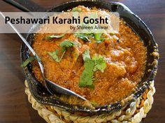 #Peshawari #Karahi #Gosht #Recipe Lamb Recipes, Eid Recipes, Indian Food Recipes, Asian Recipes, Gosht Recipe, Urdu Recipe, Find Recipes By Ingredients, Shireen Anwar Recipes, Bon Appetit