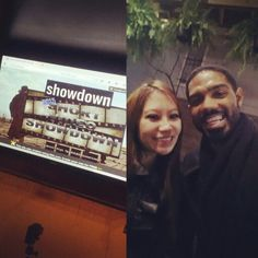 Enjoying a selfie with director/writer Ashley Summer, for the screenings of the Houston Film Production Club Short Film Showdown yesterday evening.   This contest is where we had to write, film, edit, and render a short film in 4 hours or less. The genre that we were given was Comedy and the theme - funeral.    We started the day losing our film editor, sound producer, and didn't have a secure location to shoot, but we managed to put our heads together and come up with a neat film that I…