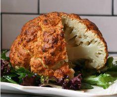 roast whole califlower