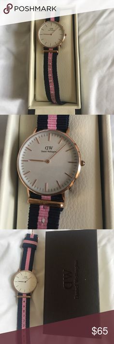 Daniel Wellington watch Authentic DW watch. Worn 3 times. With box. Works perfectly and wear marks shown as pictured. Daniel Wellington Accessories Watches