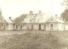 Rościszewo, 1956. Dworek rodziny Rościszewskich