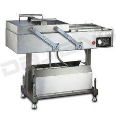 DZ-600-4SB DOUBLE CHAMBER VACUUM PACKAGING MACHINE - Equipmentimes.com Vacuum Packaging Machine, Packaging Machinery, Kitchen Cart