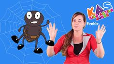 Incy Wincy Spider Nursery Rhyme With Actions | Action Songs For Children | Kids Action Songs - YouTube