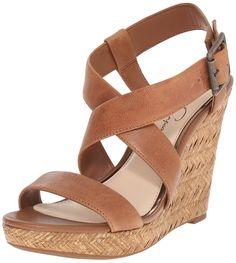 Jessica Simpson Women's Joliet Wedge Sandal >>> Additional details found at the image link  : Platform sandals