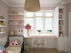 Beautiful kinderzimmer fensterdeko sitzecke am fenster gestalten Badezimmer Ideen u Fliesen Leuchten Dekoration Pinterest