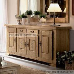 Aparador Mejicano Dining Room Design, Interior Design Living Room, Living Room Decor, Interior Decorating, Bedroom Decor, Living Spaces, Home And Living, Diy Furniture, Sweet Home