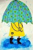 rainy day - 1st grade