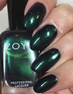 ehmkay nails: Zoya Enchanted Holiday 2016 Collection Swatches and Review. Zoya Olivera