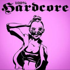 On instagram by _kitty_van_core_ #hakken #gabbermadness (o) http://ift.tt/1PexUuj % HARDCORE  #Frenchcore #Terror #Pink #Gabber #Gabberina #Gabberhead #Oldschool #Hakke #Hakken #Music #Sound #Beat #Speed #Bass #Loud #100ProcentHardcore #Home #Bavaria #Germany