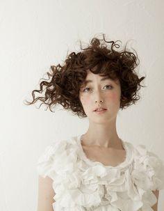 €corte de pelo mujer #rizos #peluqueria #ciudad real
