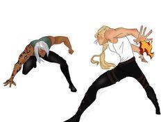Rowaelin sparring