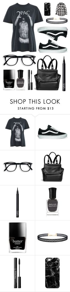 """""""You're the Judge, Oh No"""" by pattibear ❤ liked on Polyvore featuring And Finally, Vans, Givenchy, NARS Cosmetics, Deborah Lippmann, Butter London, LULUS, Casetify and H&M"""