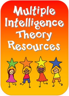 Resources for teaching multiple intelligence theory to kids
