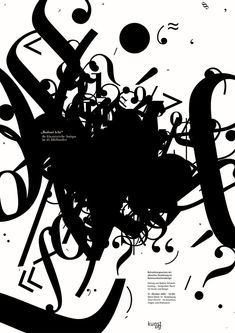 Designer- Unknown I like the concept of overlapping type. In this piece, the overlapping type looks a bit chaotic, but still has harmony. Maybe because all of the text is cluttering into one spot. Source: pinterest #typographyoster #overlappingtype
