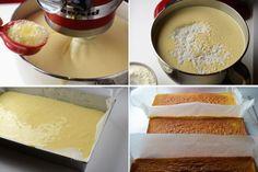 Prajitura Petre Roman - Retete culinare by Teo's Kitchen Vanilla Cake, Roman, Caramel, Keto, Cheese, Ethnic Recipes, Kitchen, Desserts, Food