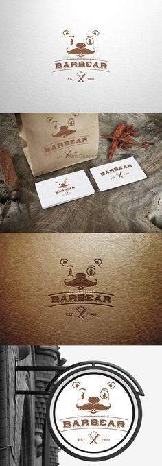 #barbear #bear #barber #logo #brandidentity #design #logodesign #graphic #graphicdesign #artdirector #branding Barbear - Branding for Creative & Design for sale!  - Logo ( color variations and black / white ) + business card design ( 2 sides ) as bonus. Format files: eps, pdf, png, jpg or any other at request. Order now at: onegiraphe@gmail.com www.One-Giraphe.com