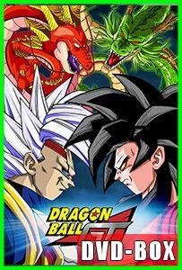 Dragon Ball GT Remasterizado – (Sagas Completas / DVD-BOX) Audio Latino