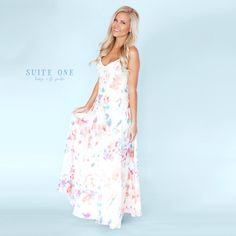 The perfect summer maxi! To order, call us at 4794342318!