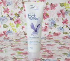 Máscara Esfoliante para pernas e pés - Avon Foot Works