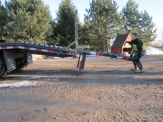 So easy to fold down the ramps even a child can do it Equipment Trailers, The Row, Child, Canning, Easy, Boys, Kid, Children, Home Canning